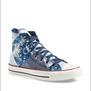 Converse All Star 'Multi Bandana' High Top Sneaker
